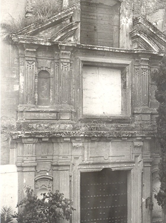 Fachada templo años 50